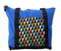 Abstract Art Style Shoulder Bag