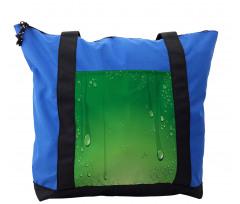 Abstract Art Water Drops Shoulder Bag