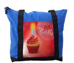 100 Old Cupcake Shoulder Bag