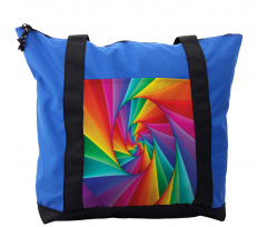 Abstract Art Vivid Swirl Shoulder Bag