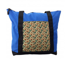 Abstract Art Wings Shoulder Bag