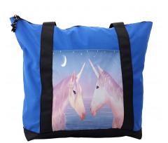2 Akhal Teke Unicorns Shoulder Bag