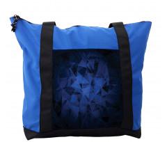 Abstract Atomic Stars Shoulder Bag