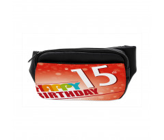 15th Birthday Concept Bumbag
