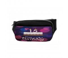 15 Birthday Cake Bumbag