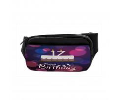 17 Party Cake Bumbag