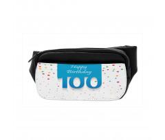 100 Years Birthday Bumbag