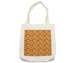 Abstract Autumn Flora Tote Bag