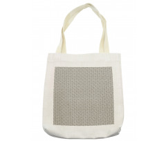 Abstract Art Grid Tote Bag