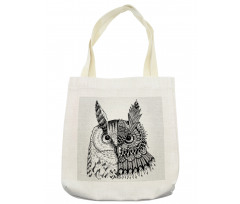 2 Animal Faces Design Tote Bag