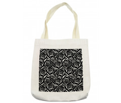 Abstract Art Rose Flowers Tote Bag