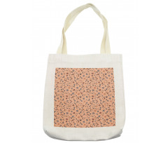 Abstract Autumn Botany Tote Bag
