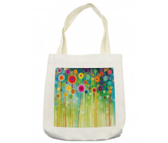 Abstract Art Dandelion Tote Bag