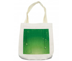 Abstract Art Water Drops Tote Bag