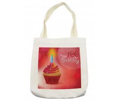 100 Old Cupcake Tote Bag