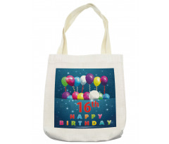 16 Party Tote Bag