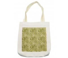 Abstract Autumn Garden Tote Bag