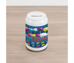 16 Party Can Piggy Bank