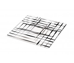 Abstract Art Geometric Cutting Board