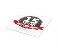 15 Emblem Cutting Board