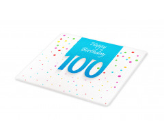 100 Years Birthday Cutting Board