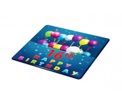 16 Party Cutting Board