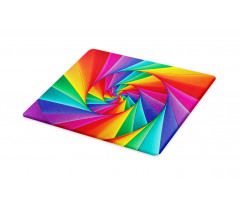 Abstract Art Vivid Swirl Cutting Board