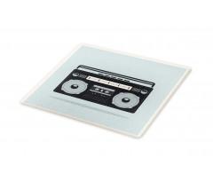 1980s Boombox Image Cutting Board