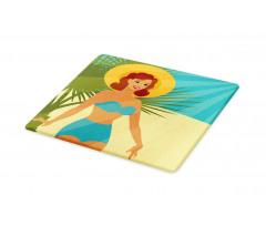 1950s Style Bikini Cutting Board