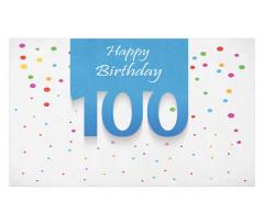 100 Years Birthday Doormat