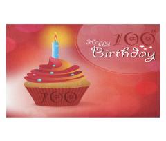 100 Old Cupcake Doormat