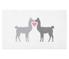 2 Animals in Love Doormat