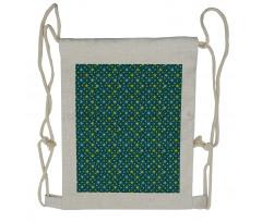 Abstract Art Modern Ornament Drawstring Backpack