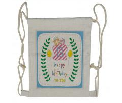 13th Birthday Gifts Drawstring Backpack