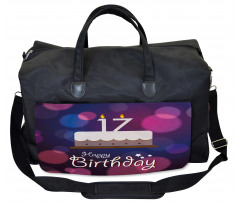 17 Party Cake Gym Bag