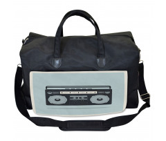 1980s Boombox Image Gym Bag