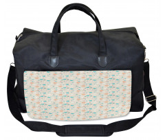 Abstract Art Floral Doodle Gym Bag