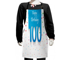 100 Years Birthday Kids Apron