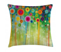Abstract Art Dandelion Pillow Cover