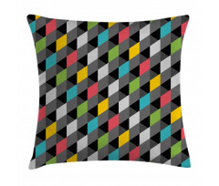 Abstract Art Style Pillow Cover