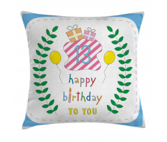 13th Birthday Gifts Pillow Cover
