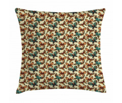 Abstract Art Wings Pillow Cover