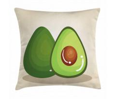 Avokado Minder Kılıfı İçindeki Çekirdeği Parlayan Sağlıklı Meyve
