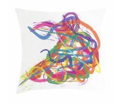 Abstract Art Dancer Pillow Cover
