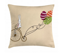 Minder Kılıfı Bisikletli Tavşan