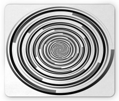 Abstract Art Spirals Mouse Pad