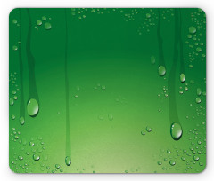 Abstract Art Water Drops Mouse Pad