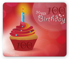 100 Old Cupcake Mouse Pad