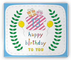 13th Birthday Gifts Mouse Pad