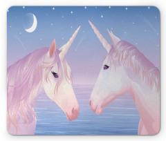 2 Akhal Teke Unicorns Mouse Pad